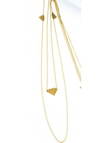 Collana lunga Linea Le Tentazioni in argento 925 con perline