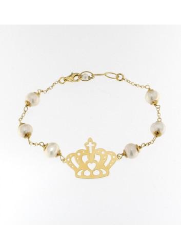 Bracciale Linea Queen con perle